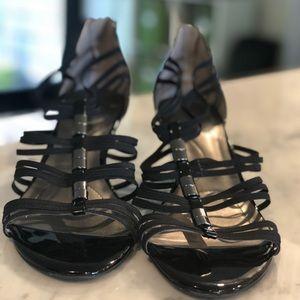 Bandolino Patent Sandals